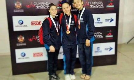 ¡Medalla de bronce para Aguascalientes en gimnasia artística en la prueba por equipos!