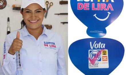 ¡Lupita de Lira candidata oportunista mezcla política con religión, compromete al clero!