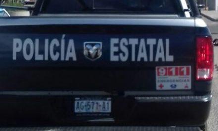 Detienen policías estatales a presunto cristalero en posesión de droga
