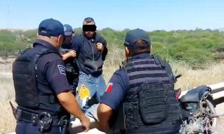 Captura policía estatal a presunto ladrón