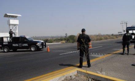 Cuatro personas que llevaban alrededor de un kilogramo de droga crystal, fueron detenidas en la puerta de acceso sur