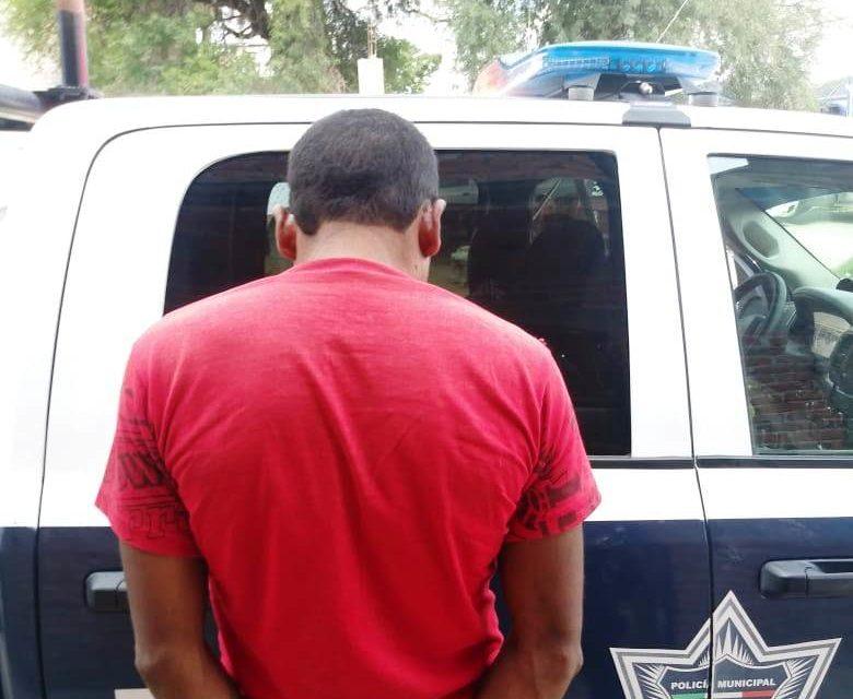 Capturan a presunto ladrón en Rincón de Romos
