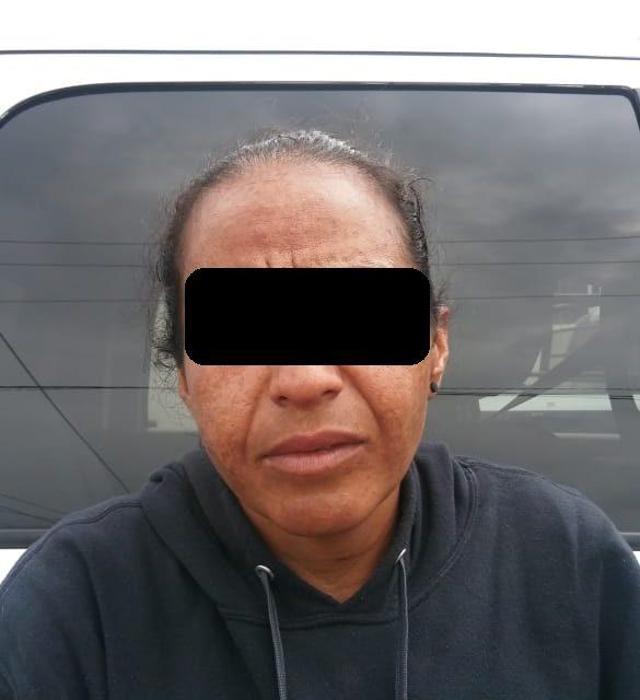 Mujer en posesión de droga, fue detenida en el Municipio de Rincón de Romos