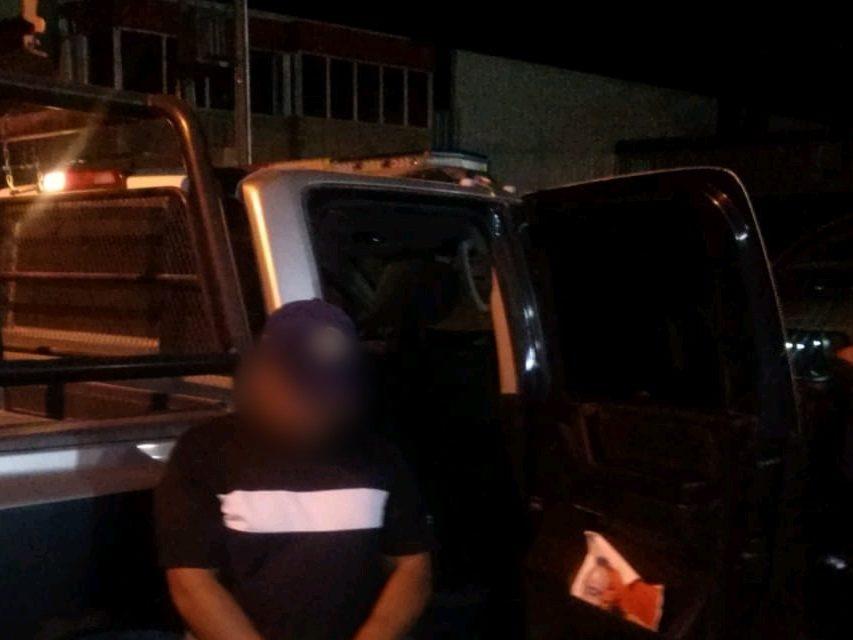 Capturan a sujeto con varios galones de gasolina de la que no pudo acreditar propiedad