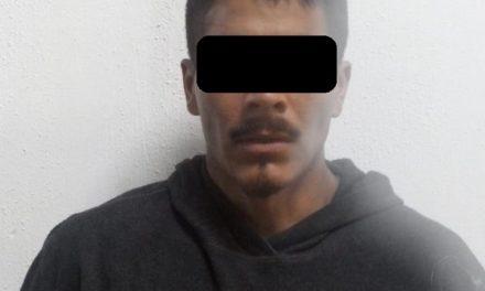 En el municipio de Pabellón de Arteaga fue detenido un individuo con alrededor de 100 dosis de droga crystal