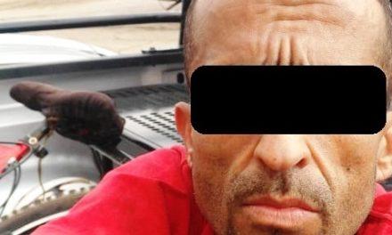 Detienen en Asientos a presunto distribuidor de droga