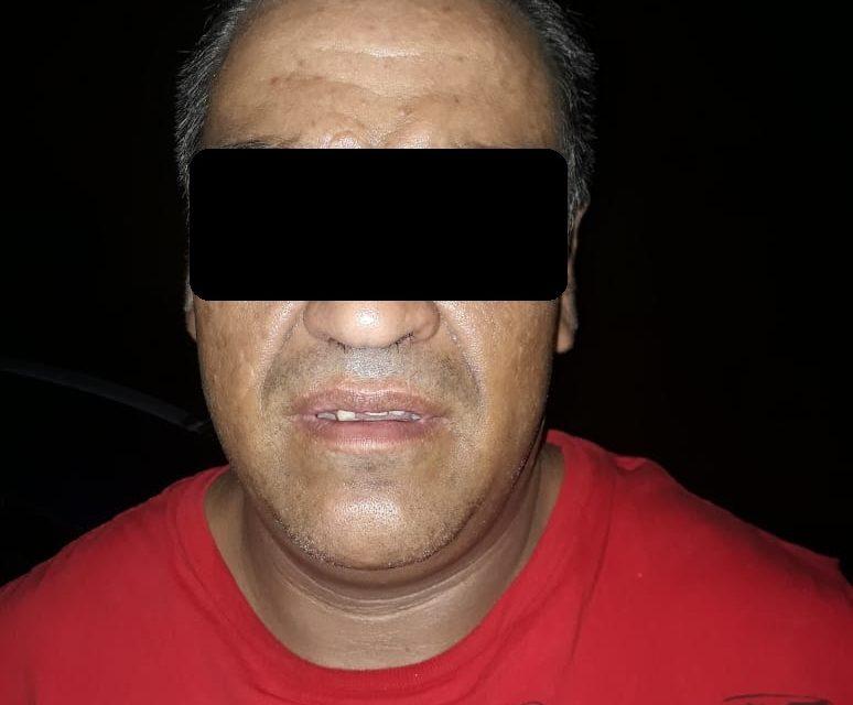 En operativo BOM, fue detenido presunto distribuidor de drogas