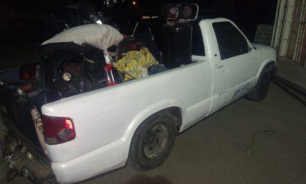 Diversos aparatos electrónicos fueron recuperados en el Municipio de Jesús María