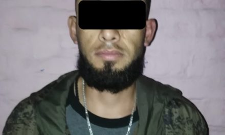 Presunto distribuidor de droga fue detenido en la colonia Insurgentes