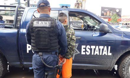 Presunto distribuidor de drogas fue detenido por la Policía del Estado en Pilar Blanco