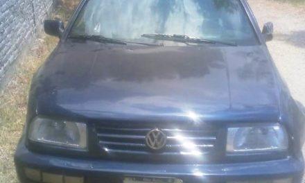 Vehículo recuperado con reporte de robo en Jesús María