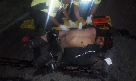 Fue atendido un accidente que dejó como saldo una persona fallecida en el municipio de Asientos