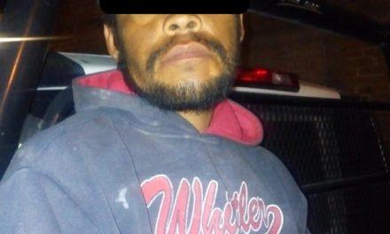 Fue capturado en el municipio de Pabellón de Arteaga una persona que contaba con una orden de aprehensión vigente por delitos contra la salud