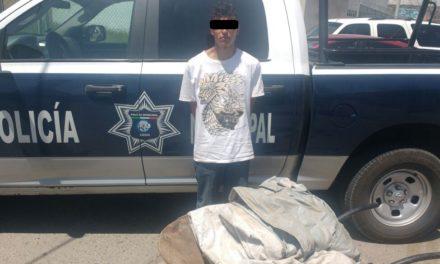 Capturan en el municipio de Cosío a una persona acusada de un robo domiciliario