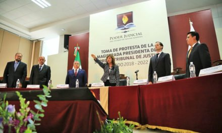 ¡Tomó Protesta Gabriela Espinosa Castorena como Presidenta del STJ para el periodo 2018-2022!