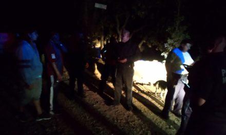En un trabajo conjunto entre policías, bomberos y personal de protección civil, fue localizada una pareja que se encontraba extraviada en el picacho