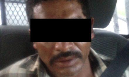 Capturan en el municipio de Tepezalá a una persona en posesión de droga