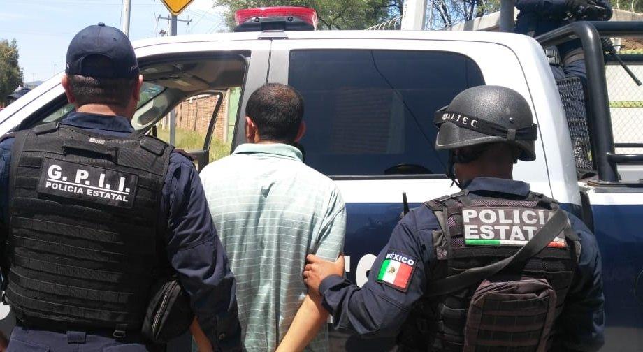 Detiene policía estatal a presunto distribuidor de droga que operaba en el municipio de Calvillo