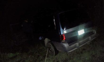 Vehículo con reporte de robo fue recuperado en el municipio de El Llano