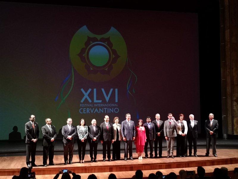 ¡Presentan Programa Artístico y Cultural de Aguascalientes en el Festival Internacional Cervantino!