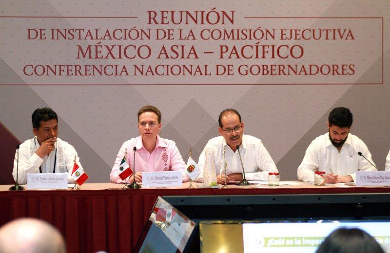 ¡Asume el Gobernador Coordinación de Comisión Ejecutiva México Asia-Pacífico de la Conago!