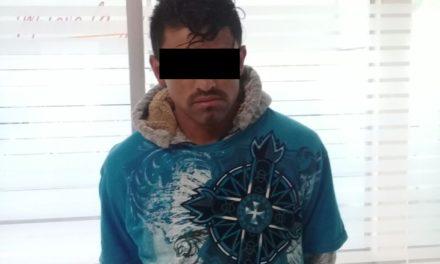 Detienen en Pabellón de Arteaga a sujeto señalado por robo