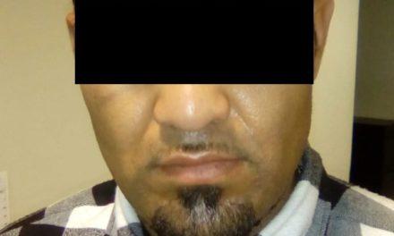 Minutos después de apoderarse de un vehículo, fue detenido en el municipio de Jesús María
