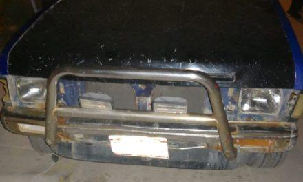 Conducía camioneta con placas sobrepuestas y fue detenido en Jesús María