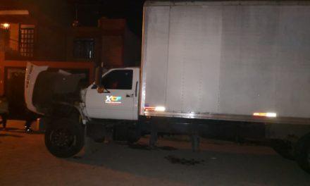 Recuperan camión con reporte de robo en Jesús María