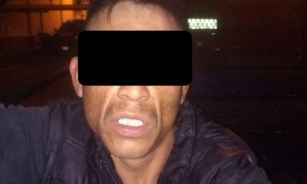 Detienen en Rincón de Romos a un sujeto en posesión de droga