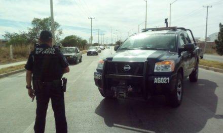 Detienen policías estatales a sujeto con orden de aprehensión vigente