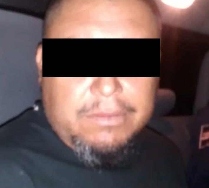 Fue detenido en Tepezalá a una persona acusada de allanamiento de morada