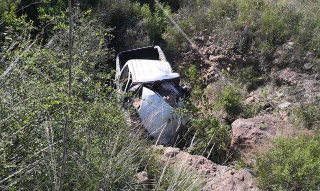 ¡Muere en volcadura el alcalde de Villanueva, Zacatecas!