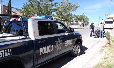 Elementos de la SSPE detuvieron al conductor de un vehículo con placas sobrepuestas