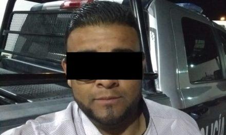 En el municipio de Pabellón de Arteaga, fue detenido presunto distribuidor de droga