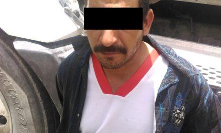 En el municipio de Tepezalá, fue detenido un individuo en posesión de droga