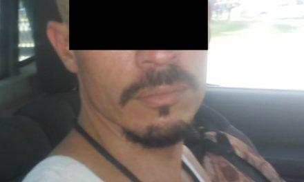 Cuenta con orden de aprehensión vigente y fue detenido en San Francisco de los Romo