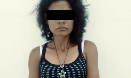 Detienen en Pabellón de Arteaga a una mujer en posesión de droga