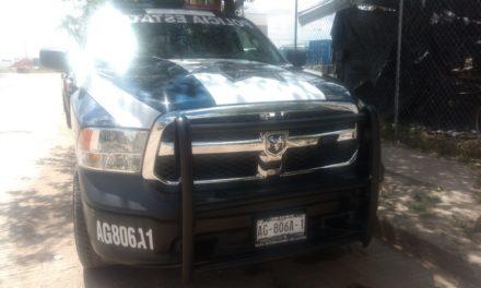 En Pabellón de Arteaga, fue detenido sujeto en posesión de droga