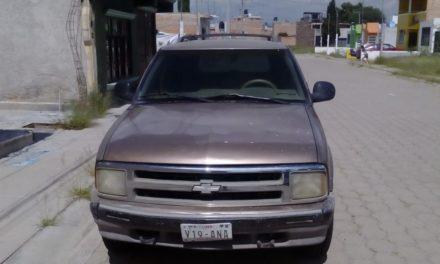 Varios vehículos  con reporte de robo fueron recuperados en la Entidad