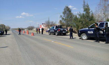 Sujeto en estado de ebriedad, agredió a los policías estatales asignados a puesto de seguridad policial de San Jacinto
