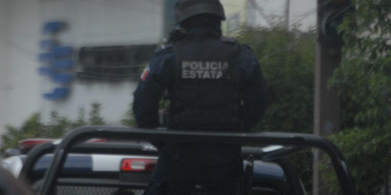 Capturan elementos de la SSPE a un sujeto en posesión de droga