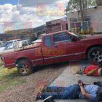 GALERIA/¡Policía Ministerial captura a 5 delincuentes en un cateo y aseguran vehículos robados, armas, drogas y explosivos!