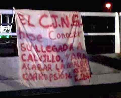 ¡El CJNG anuncia su llegada a Calvillo, Aguascalientes!