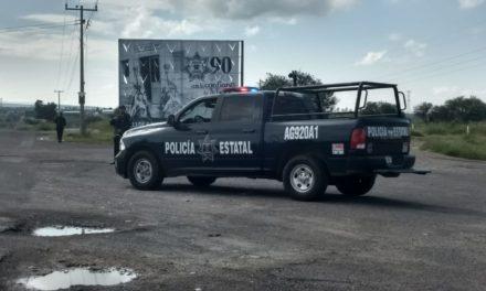 En Pabellón de Arteaga, fue detenido sujetó que dañó una patrulla