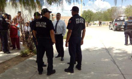 Coordina la SSPE operativo interinstitucional en el fraccionamiento La Ribera