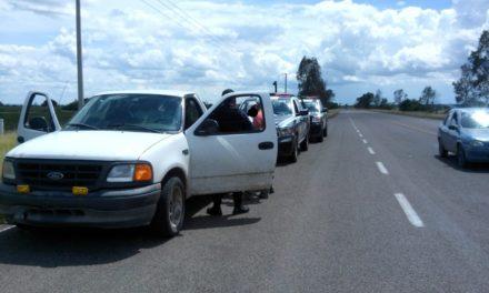 Capturan en el municipio de El Llano a presuntos distribuidores de droga