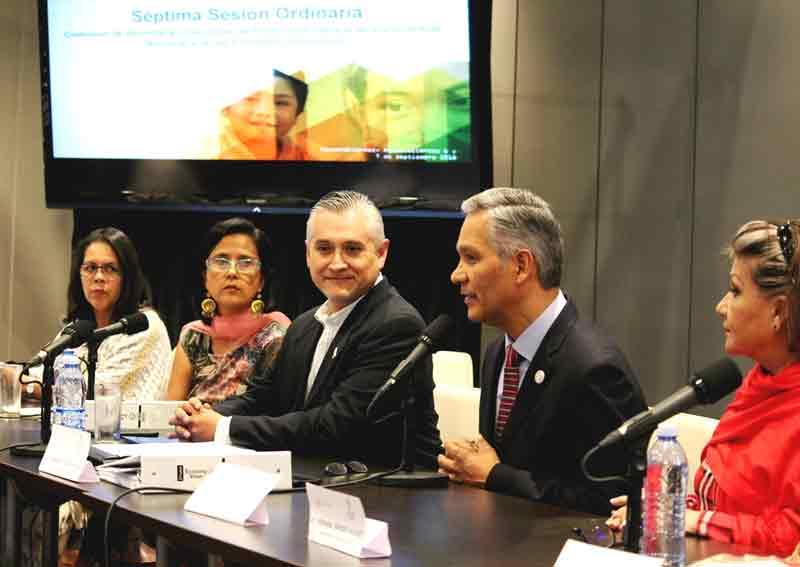 ¡Con éxito concluye Séptima Sesión Ordinaria del SIPINNA Nacional en Aguascalientes!