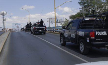Capturan policías estatales a par de sujetos armados en la colonia Rodolfo Landeros