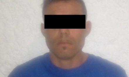 Capturan en San José de Gracia a sujeto con orden de reaprehensión vigente, identificado como blanco prioritario